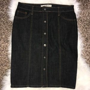 Mixit Denim Skirt Size 8